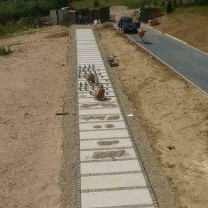 montaj pavele granit exterior